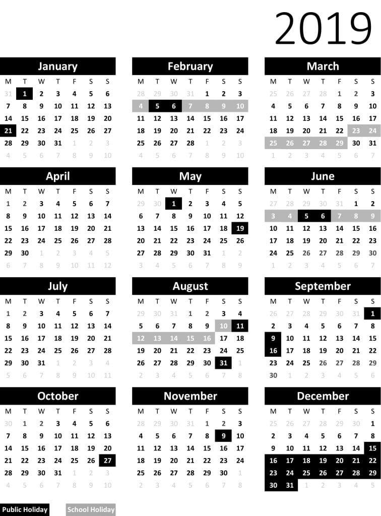 dancepot calendar 2019